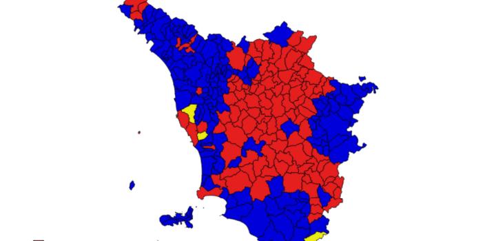 Toscana2020, il CentroDestra unito può farcela. I dati dal 2008 al 2018.